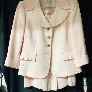Pink Tahari skirt and jacket dress suite